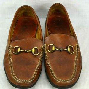 Peter Millar Leather Driving Loafers Shoes Mens 8M